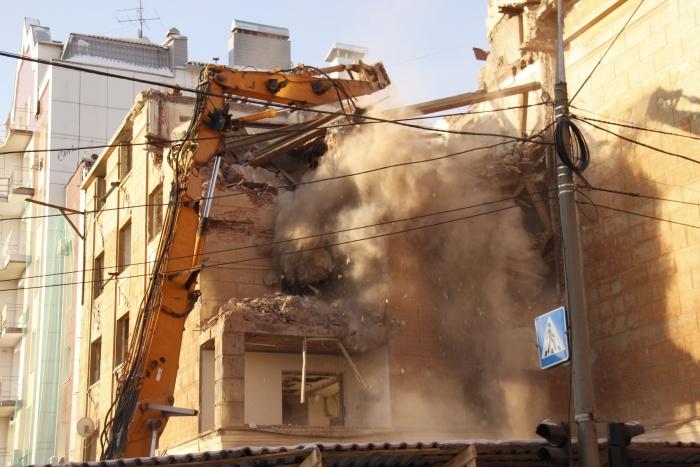 Дом на улице Урицкого, 17 начали разрушать 24 декабря