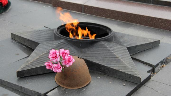 «Грелись и кидали шелуху от семечек»: в Волгограде военнослужащие осквернили Вечный огонь