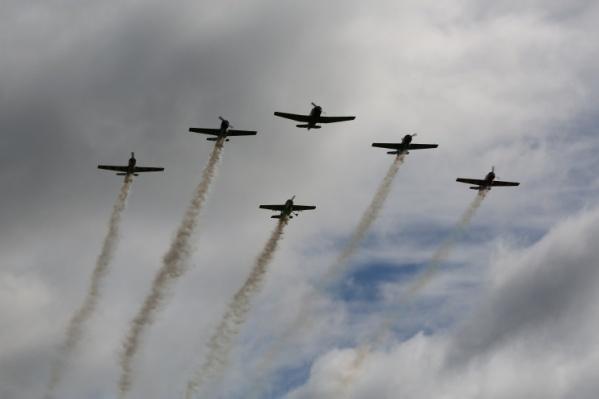На празднике шоу покажут самолёты и вертолёты