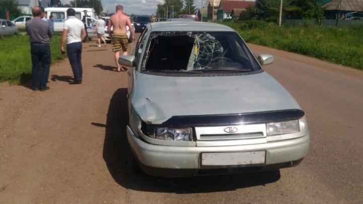 В Башкирии водитель насмерть сбил женщину, ожидавшую маршрутку