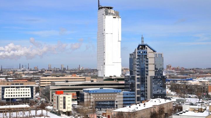 Из торгового центра «Свердловск» у заброшенного небоскрёба «Призма» решили выселить арендаторов