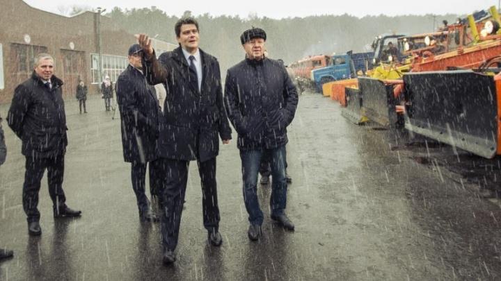 После проигрыша в борьбе за «Экспо» Высокинский позвал журналистов поговорить про снег