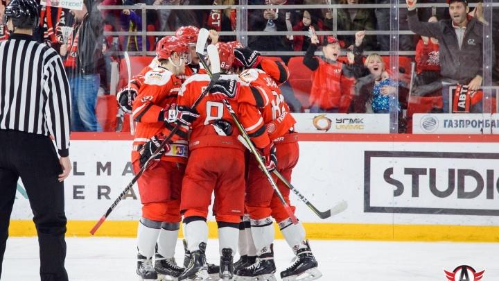 Молодежка «Авто» победила «Локо» в третьем матче финальной серии Кубка Харламова