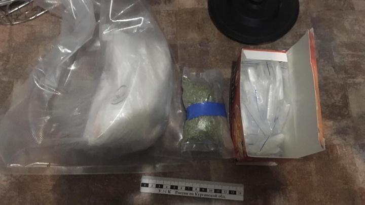 В Кургане задержали наркоторговца. У мужчины нашли около килограмма сильнодействующих наркотиков
