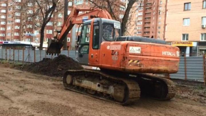 В Уфе завершают двухлетний ремонт теплосетей на бульваре Ибрагимова