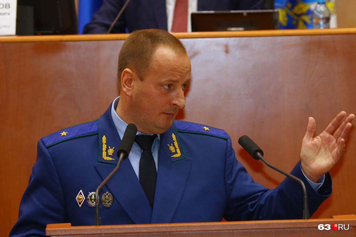 Александр Блошкин приступит к работе после того, как Генпрокурор Юрий Чайка подпишет соответствующее постановление