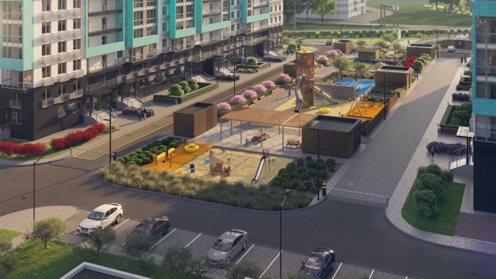 Все в одном: каким будет двор в жилом комплексе «Бастион»