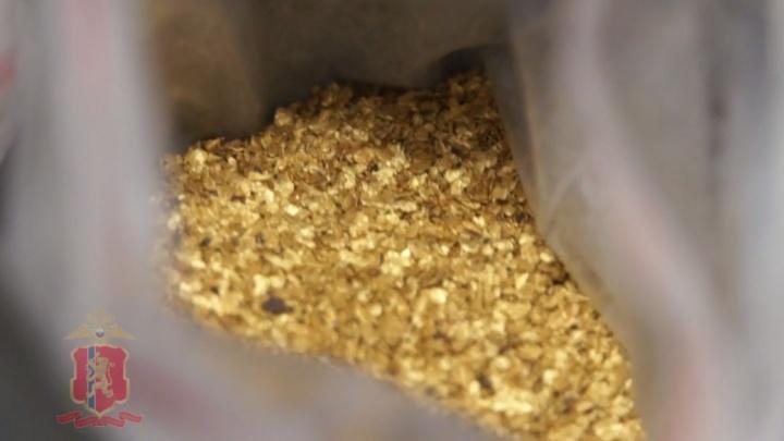 На севере края задержали мужчину с килограммом золота