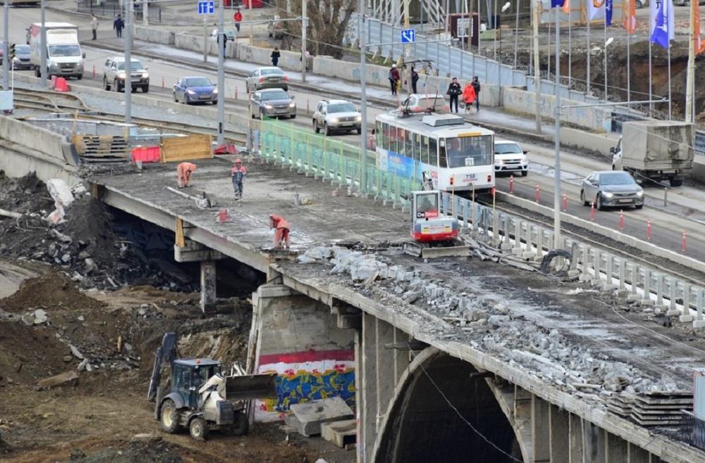 Позже треть моста полностью демонтировали