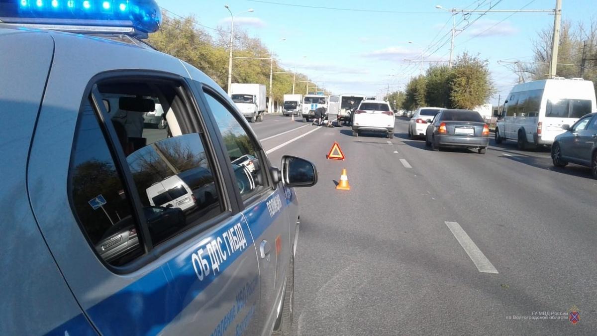 Авария произошла сегодня днем