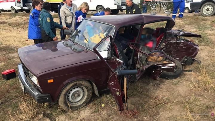 Притормозили развернуться: в Волгоградской области в ДТП с маршруткой погибла жительница Рязани