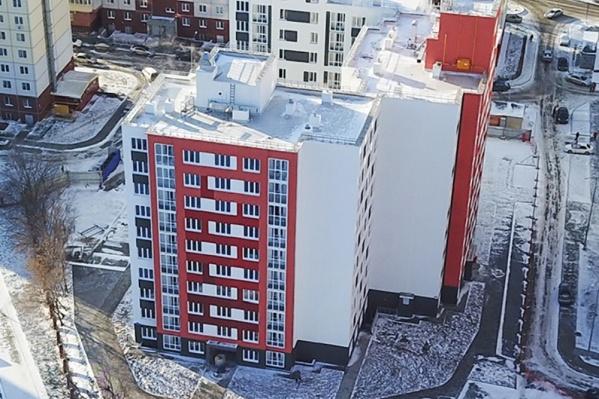 11-этажный дом начали строить в феврале, а к концу декабря уже начнется выдача ключей