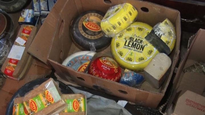 Партию из 174 килограммов санкционного сыра уничтожили в Аксае
