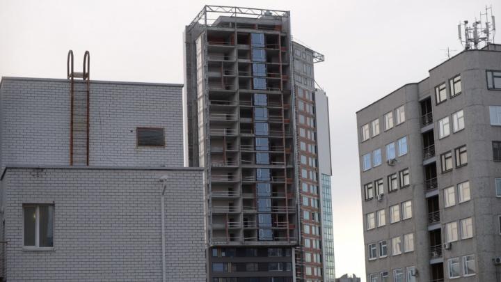 Капризный дольщик мешает застройщику начать работы в элитном долгострое в центре Екатеринбурга