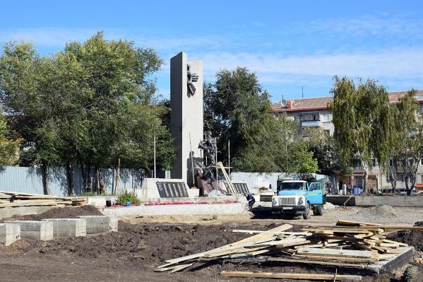 Мемориальный комплекс воинам-зауральцам, погибшим в локальных воинах и военных конфликтах второй половины XX века