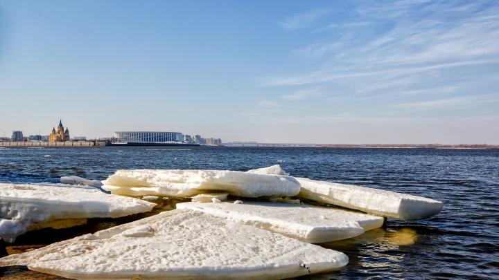 Фото дня. Остатки ледохода на Волге