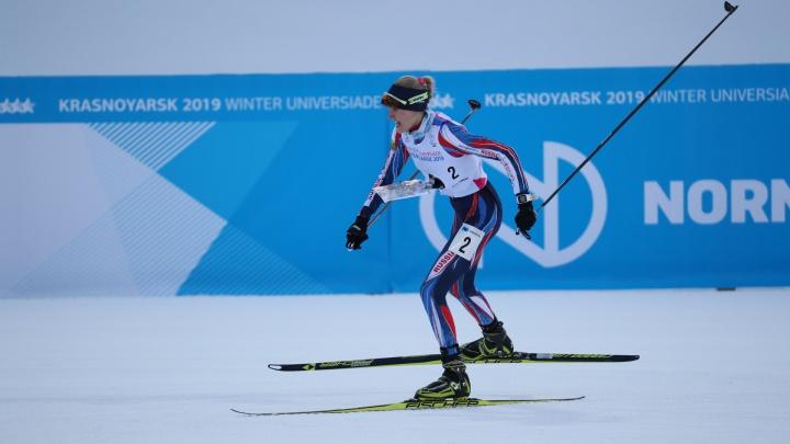 Курганская спортсменка Марина Вяткина завоевала золото на Всемирной универсиаде в Красноярске