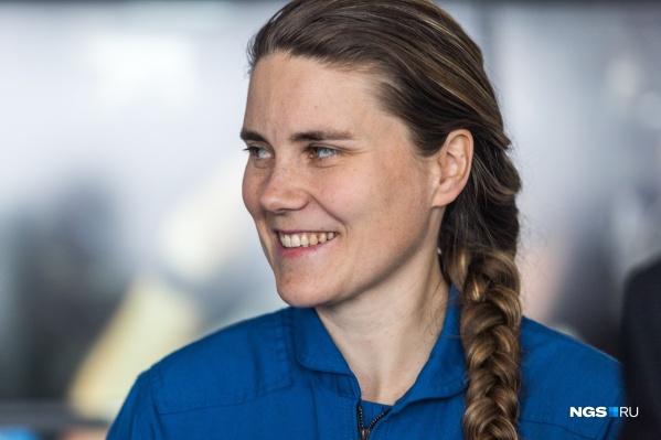 Сегодня Анна Кикина — единственная женщина в отряде космонавтов