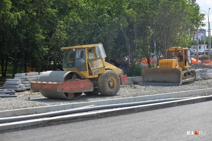 Ремонт улиц, ведущих от центра к Солнечному, начался год назад с капитальных работ на Московской