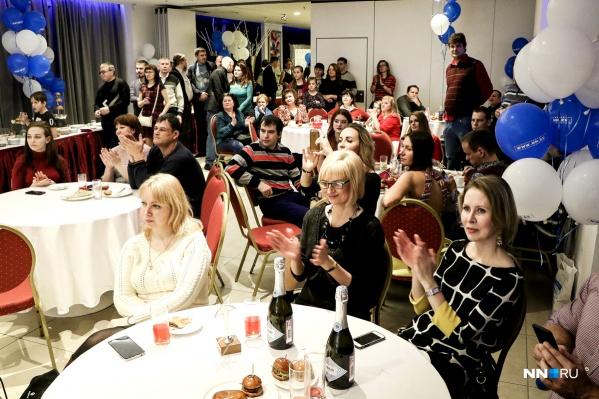 Форумчане ежегодно приходят поддержать победителей и пообщаться в реале