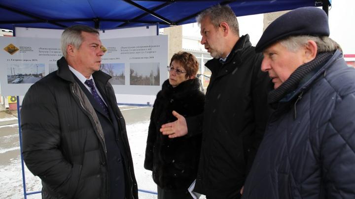 В Новочеркасске реконструировали транспортную развязку в микрорайоне Хотунок