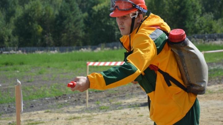 Красноярский инструктор-десантник стал одним из лучших пожарных России