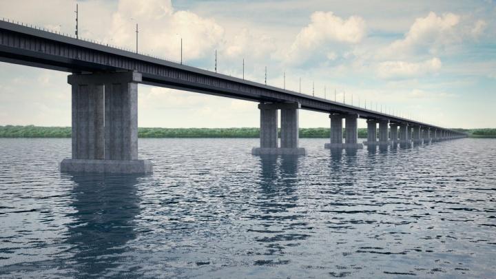 Строительство нового моста через Волгу ускорит путь от Москвы до Самары в 2 раза