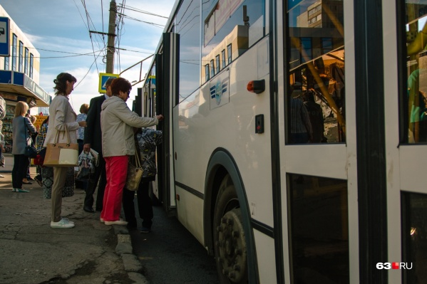 Маршрутки уступили место большим автобусам