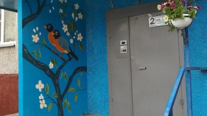 В Кургане запущен новый стрит-арт-проект: уличные художники берутся за дома Заозерного