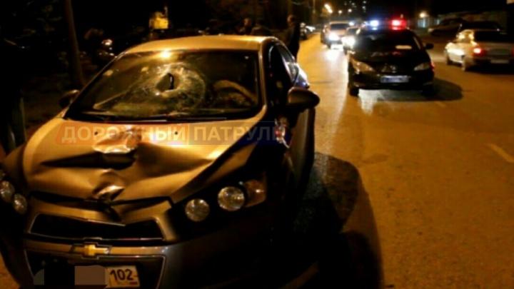 В Стерлитамаке устанавливают личность погибшего под колесами Chevrolet