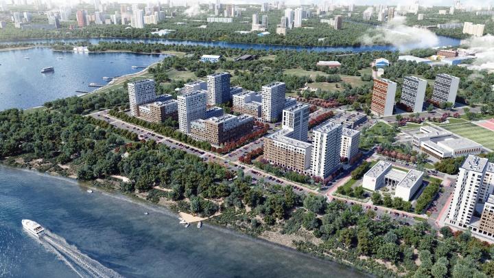 В Тюмени появились функциональные квартиры в стиле хюгге с видом на реку и мост Влюбленных