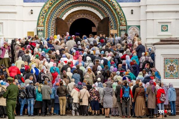 Многие ярославцы считают себя людьми православными