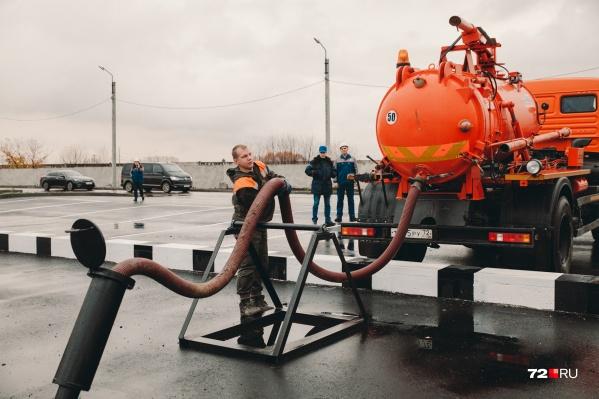 Тюменцы помогут Кургану решить канализационный вопрос