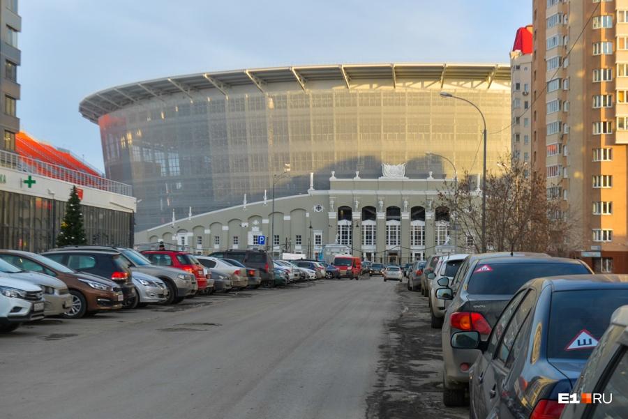 ВЕкатеринбурге на дорогах, примыкающих кЦентральному стадиону, ограничат движение