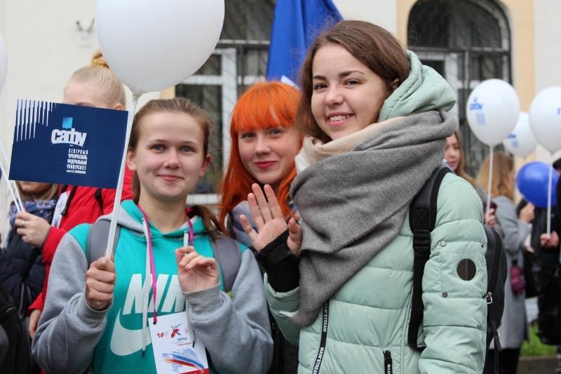 Парад студентов пройдет в Архангельске в четвертый раз