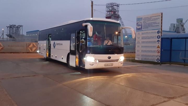 «ЕвроХим-ВолгаКалий» запустил дополнительные автобусные маршруты