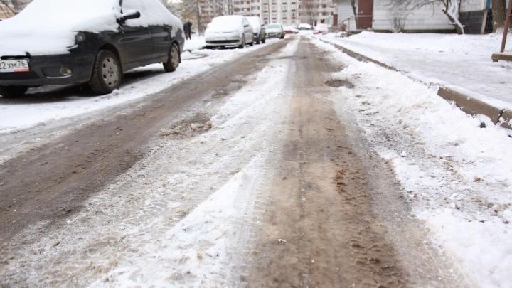 Мэрия: утром подрядчик убрал только основные магистрали