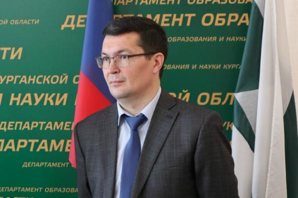 В департаменте образования и науки Андрей Кочеров работал с 2016 по 2018 год