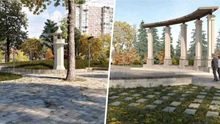 На Крымской площади установят ротонду и маяк