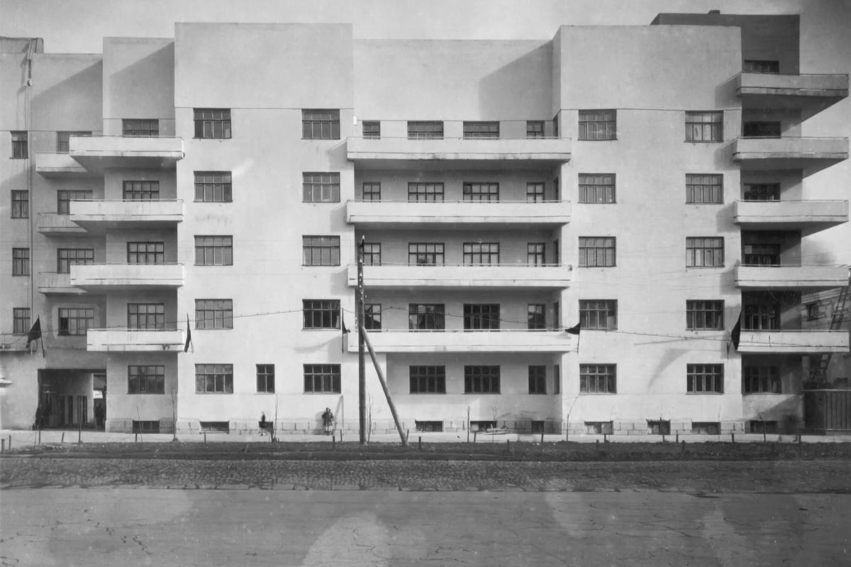 Дом появился в1933–1934 годах