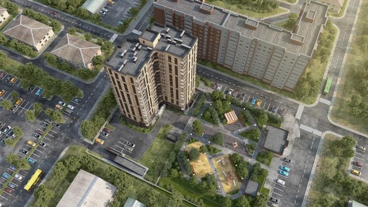 Единственный в своем роде: квартиры в доме с умными планировками продают от 11 680 рублей в месяц