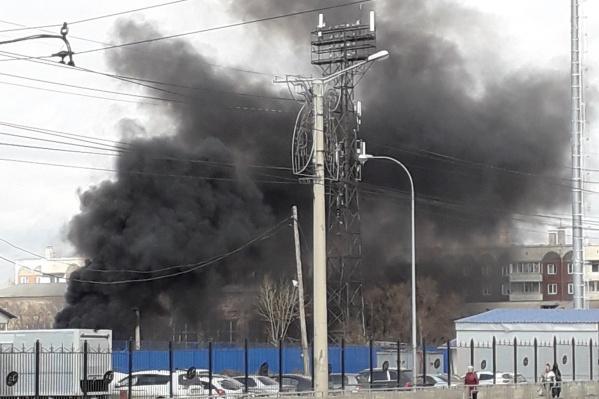 Чёрный дым на Щорса