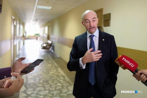 Сергей Готье — главный трансплантолог Минздрава России