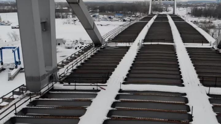 Самарский блогер показал, как водители будут ездить по Фрунзенскому мосту