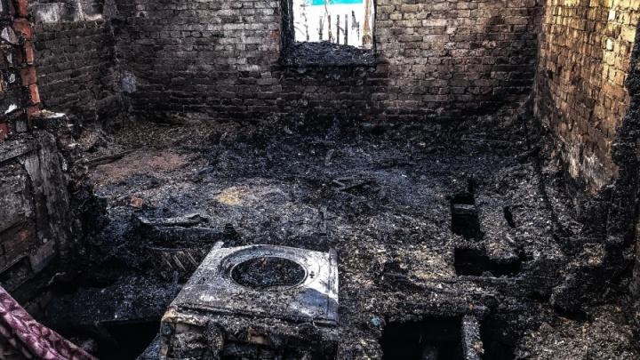 Отца-одиночку отдали под суд за гибель пятерых детей во время пожара