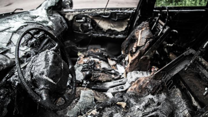 «Думал, что стёр свои отпечатки»: в Михайловке рецидивист сжег чужую машину