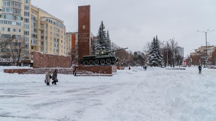 В Перми отремонтируют памятник Уральскому добровольческому корпусу и пушку на Северной дамбе