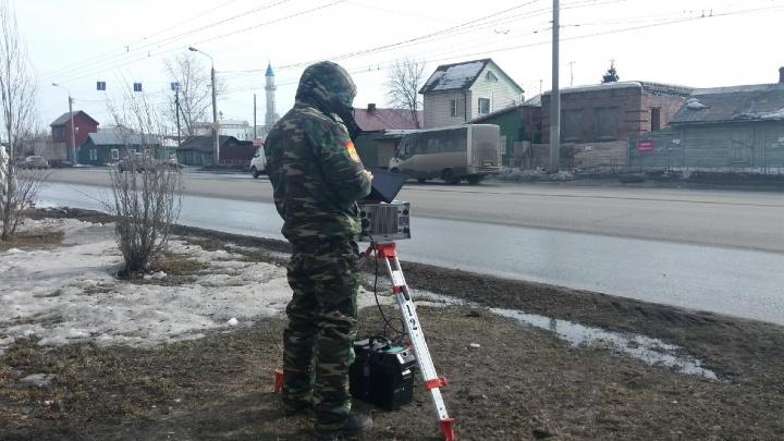 Камеры-треноги сегодня установят на проспекте Мира и Иртышской Набережной