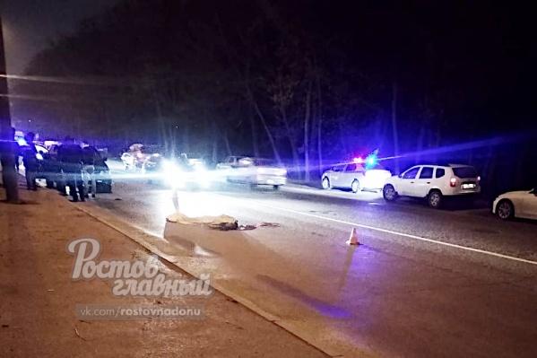 Водитель «Хонды» насмерть сбил пешехода