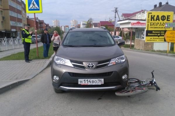 Полицейским мальчик сказал, что решил проскочить перед автомобилем